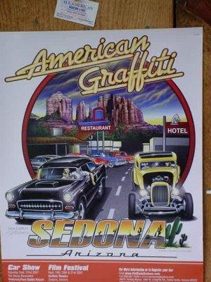 American Graffiti<br>Sedona Arizona