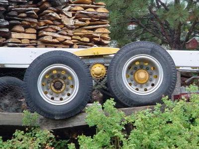 chain drive rearend
