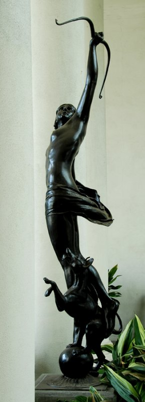 Another view of Diana.