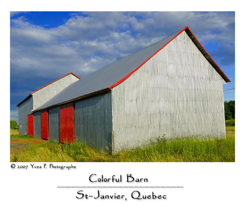 Colorful Barn ...