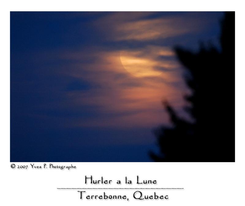 Hurler à la Lune ...