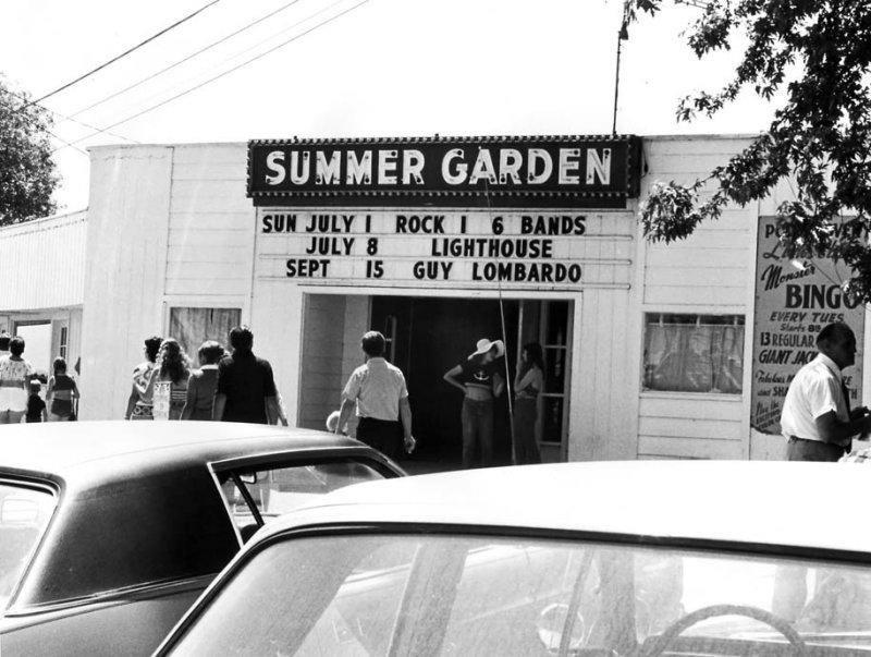 Summer Garden Guy Lombardo and Lighthouse - Port Dover
