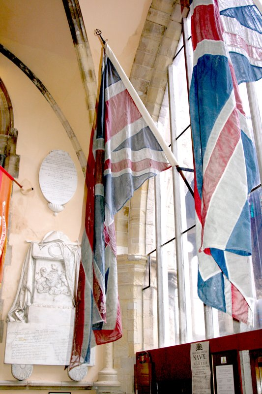 The original flags from the London Cenotaph.