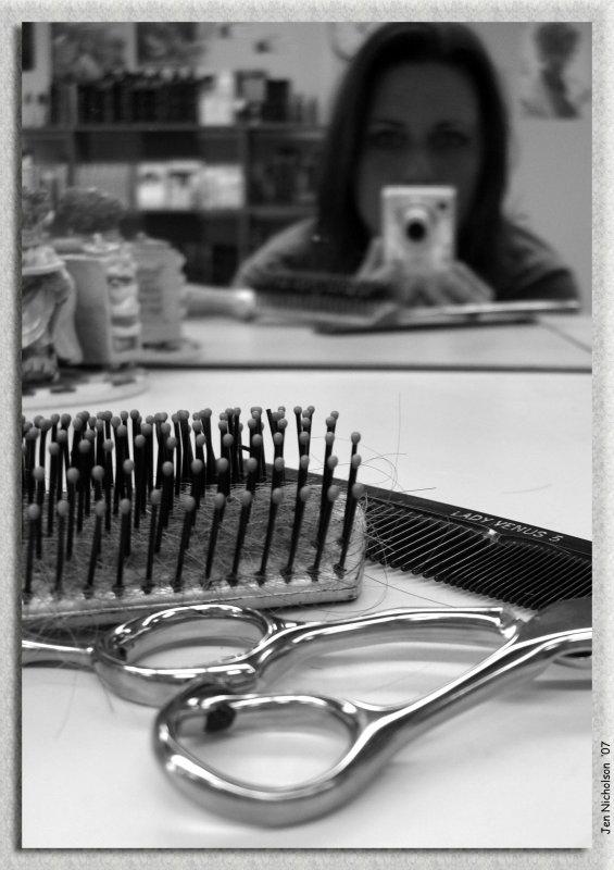 Bye Bye Hair SP/BEFORE SHOT<br>1-12-07