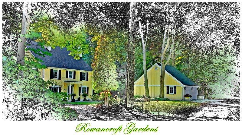 ROWANCROFT GARDEN.  Meadowvale