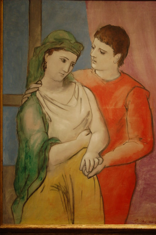 Young lovers Piccaso
