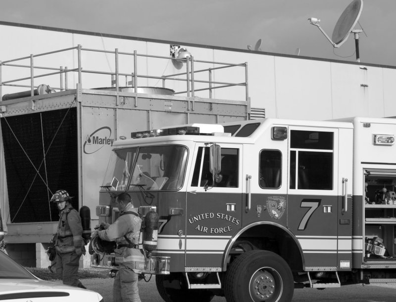 Air Force Fire Fighting