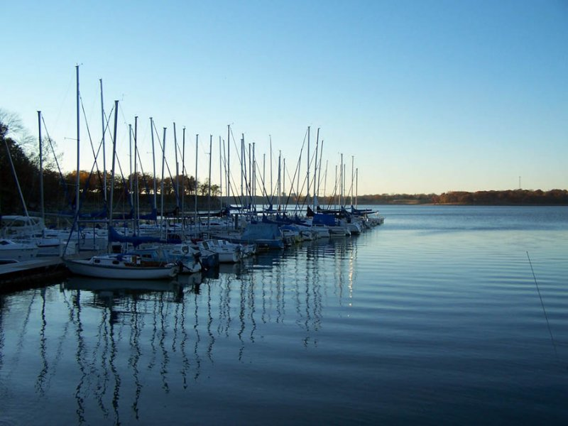 Red Bud Bay Marina on Lake Oolagah