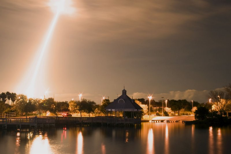 Shuttle Night Launch