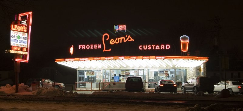 Leons Frozen Custard, Milwaukee