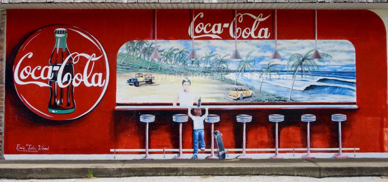 Coca-Cola Mural