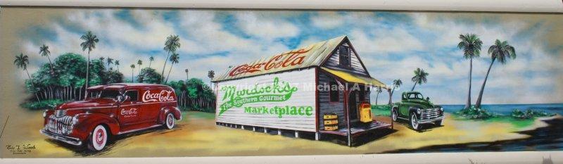 Mural - Murdocks in Cocoa Village
