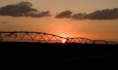 Sunset over Homestead