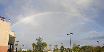 Rainbow over Eau Gallie