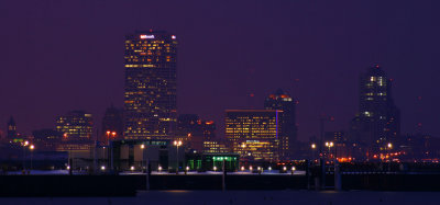 Milwaukee Skyline at Night