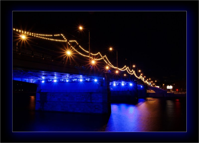 Moscow, Novospassky bridge