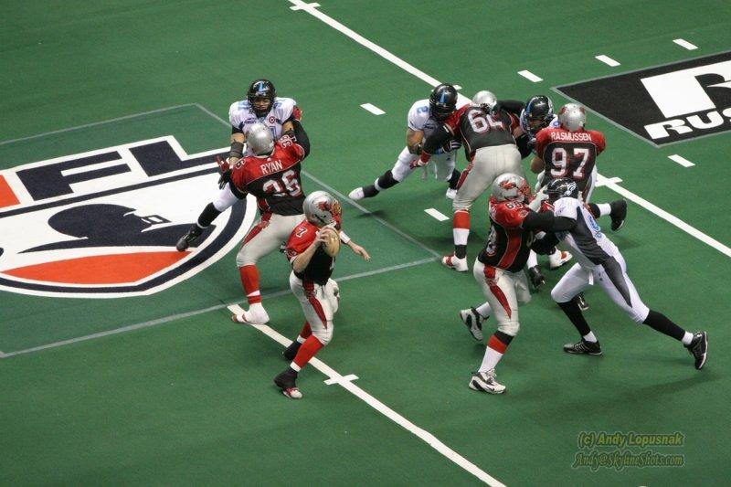 Grand Rapids Rampage QB Matthew Sauk
