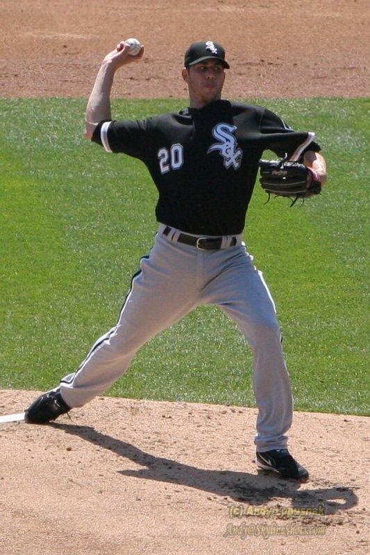 Chicago White Sox pitcher Jon Garland