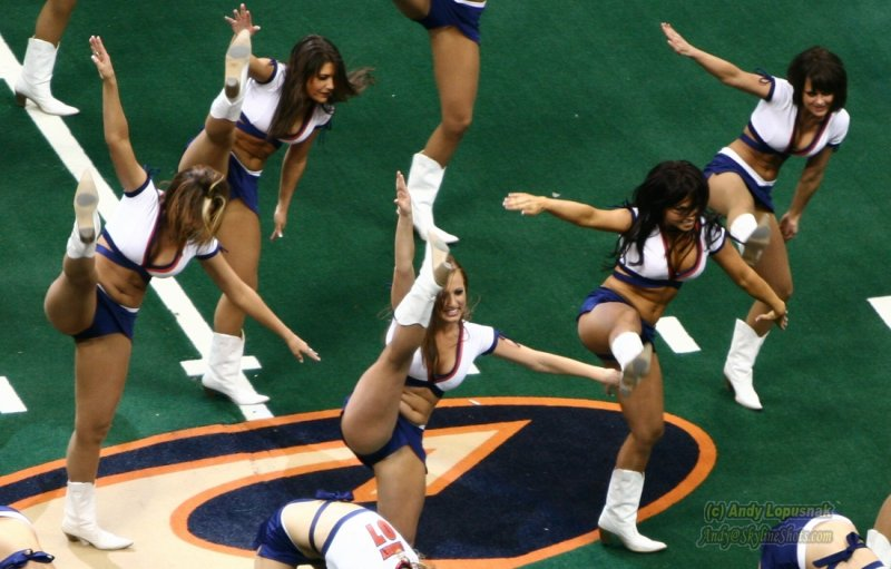 Colorado Crush cheerleaders