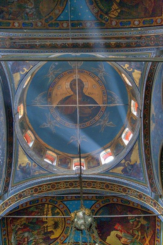 Fresco in Agios Nikolaos Church, Samos Town