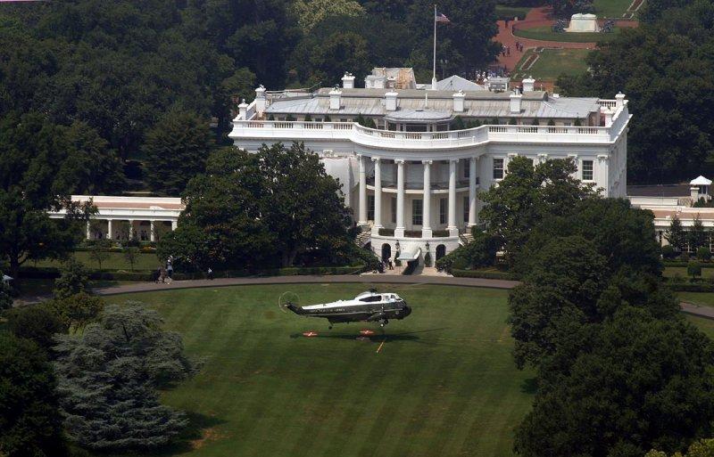 Marine One & the White House