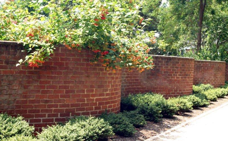 Serpentine Wall