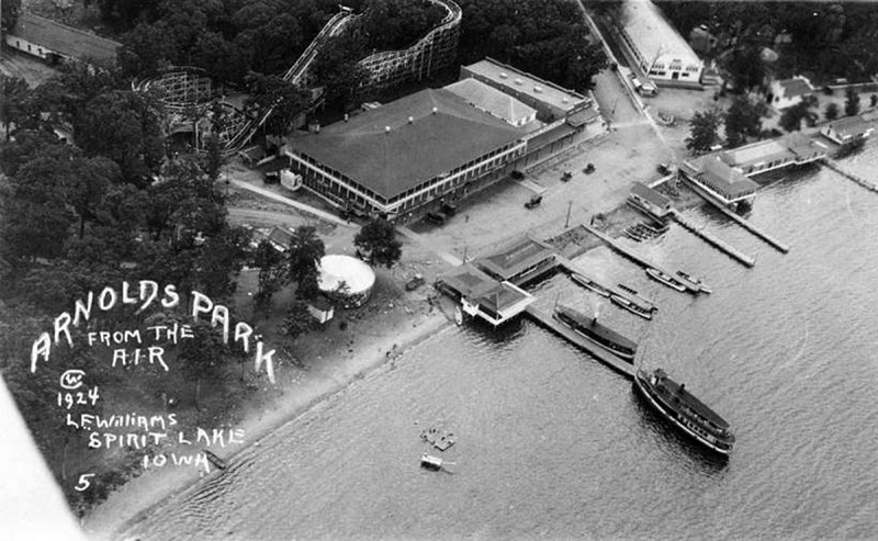 Arnolds Park 1924