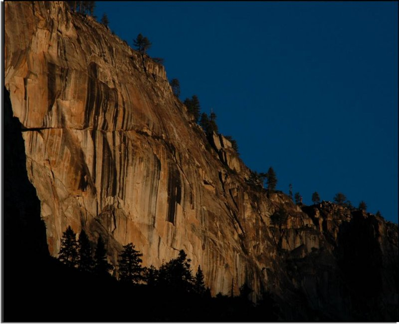 Early Light on Yosemite Granite