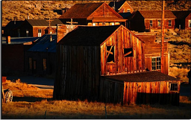 First Light at Bodie