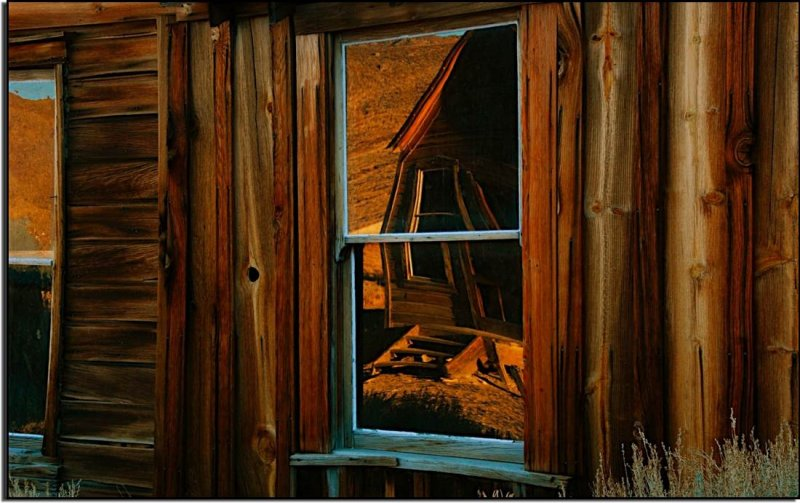 Window Reflection, Bodie