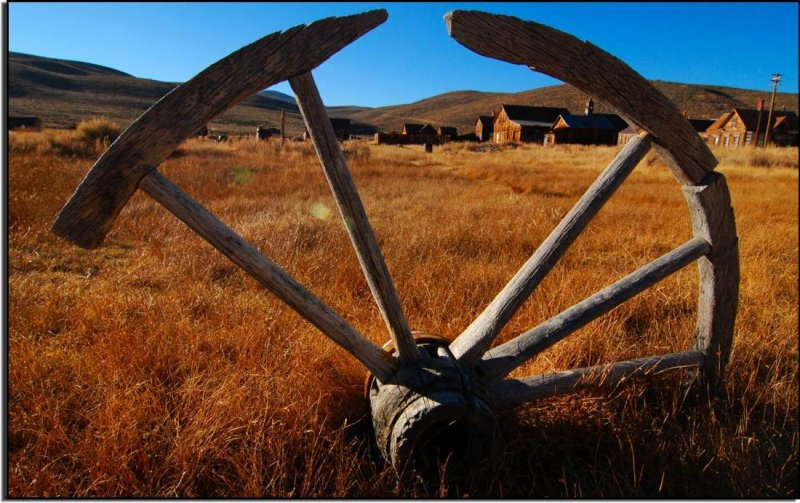 Old Wagon Wheel, Bodie