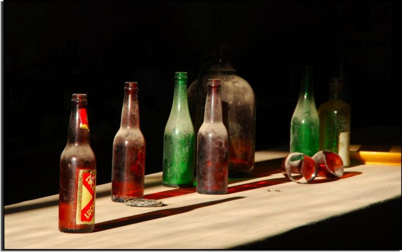 Bottles in the Bar, Bodie