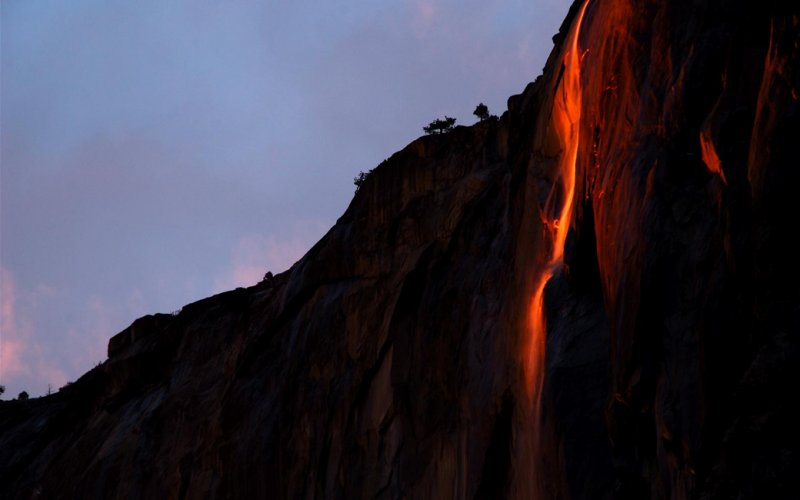 Horsetail Fall, Natures Firefall