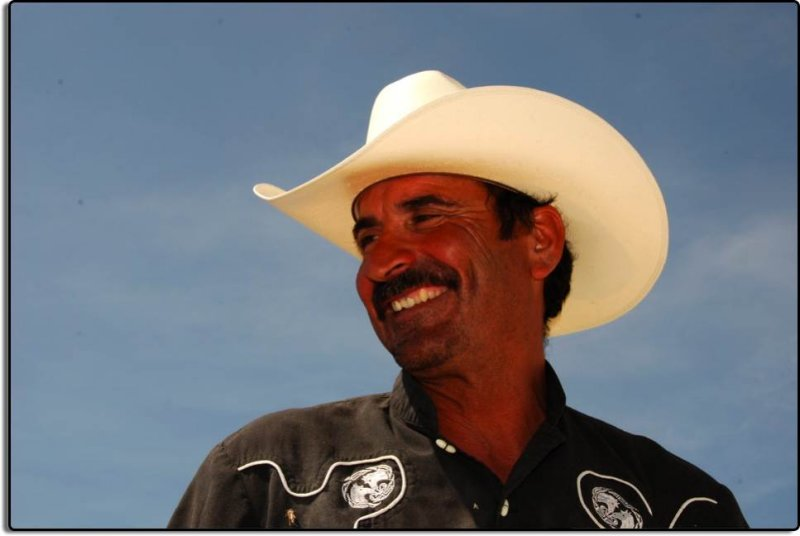 Cowboy near Lamont, California