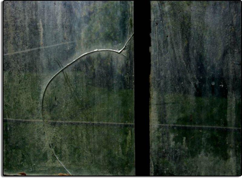 Cracked Window, Sunset Labor Camp