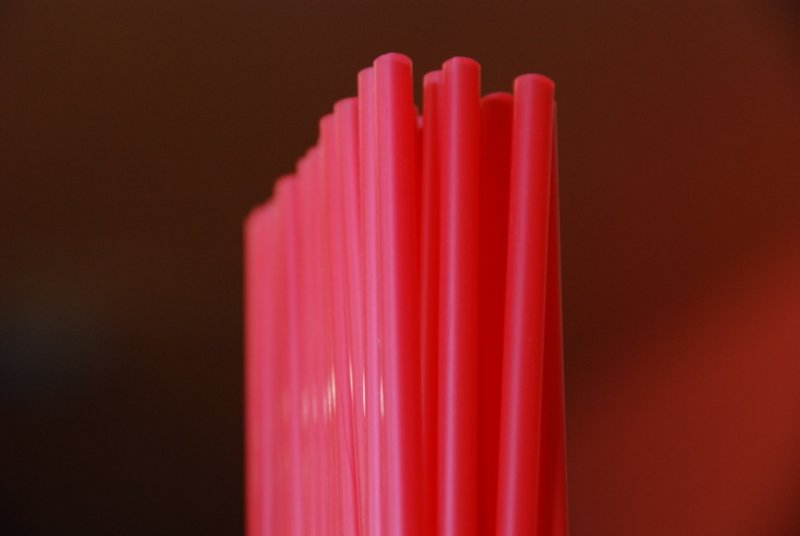 Straws Inside the Nile Theater