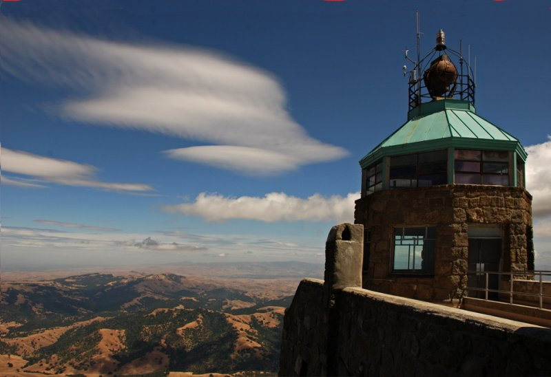 The View from the Summit of Mount Diablo, California