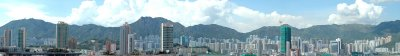 Kowloon City Panorama View