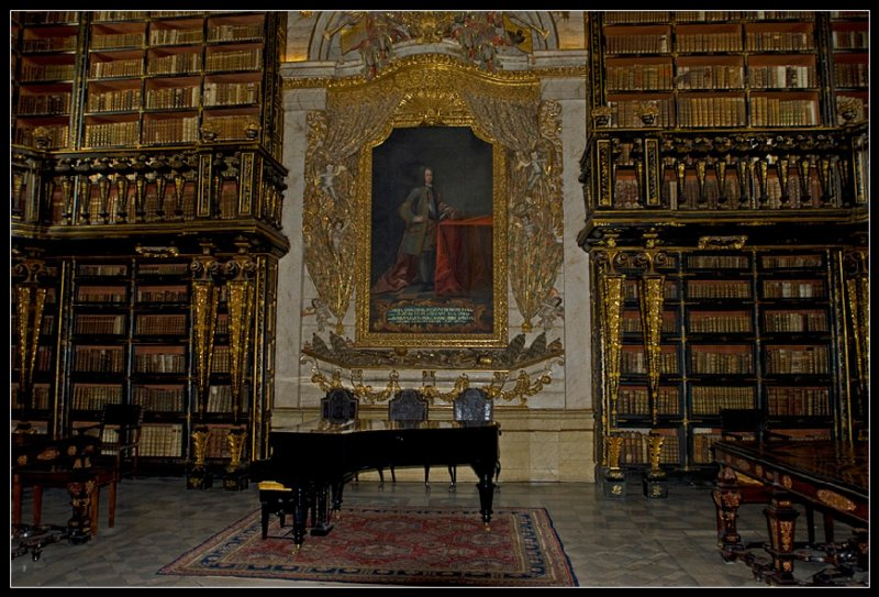 Coimbra - the biblioteka