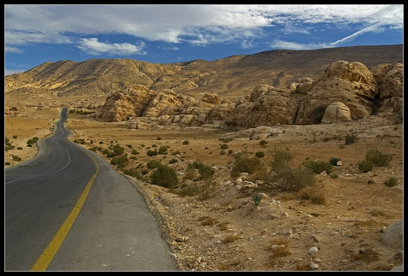 The road to Petra