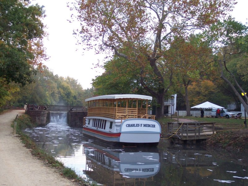 New canal boat