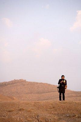 Woman photographer - Persepolis