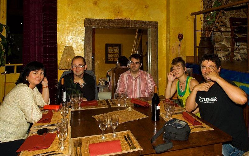 Jola, Xavi, Xavi, Leelooita and Francisco