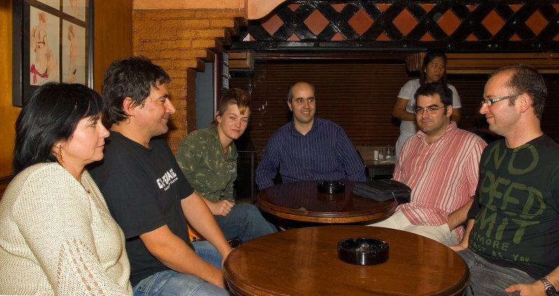 Jola, Francisco, Leelooita, Paolo, Xavi and Xavi