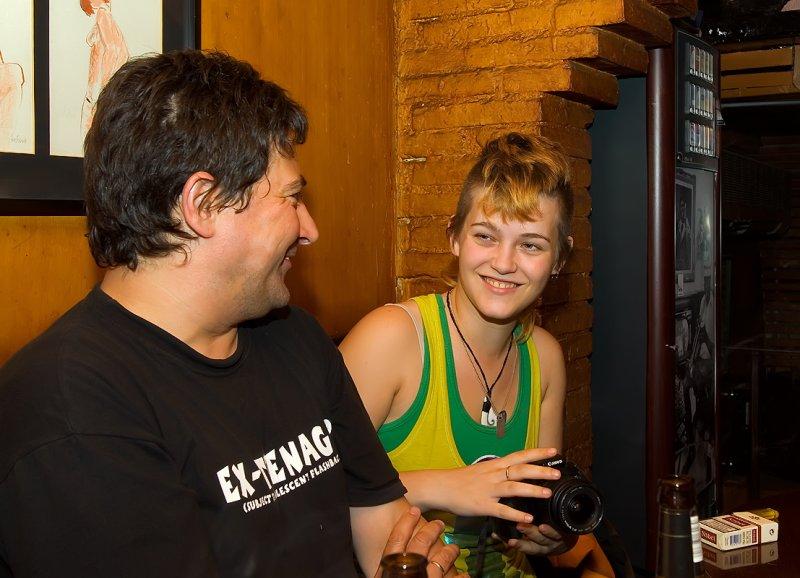 Francisco and Leelooita