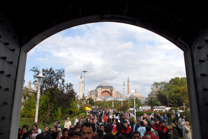 Hagia Sophia from Blue Mosque