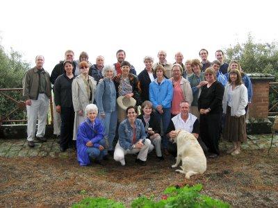 Group at Le Velette