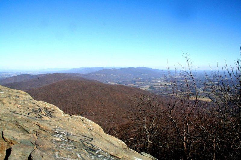 Humpback Rocks.