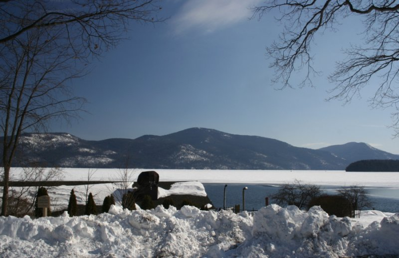Buck Mountain from The Sagamore