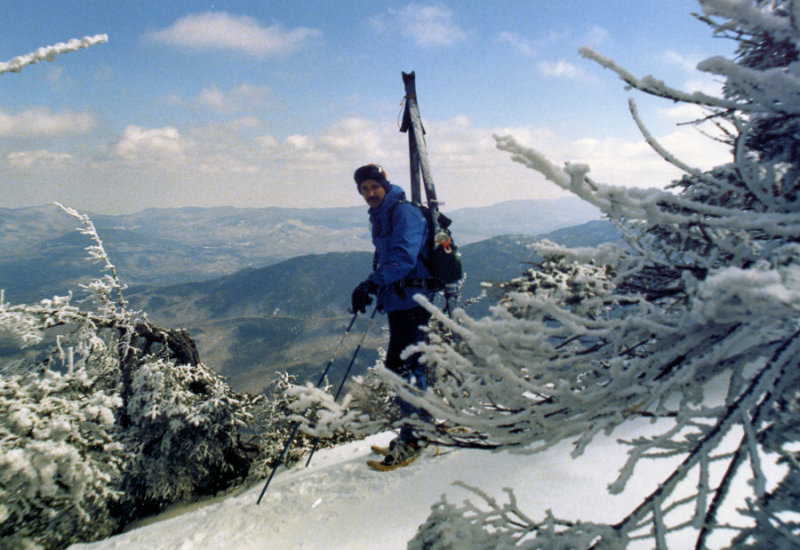 Near Whiteface Summit